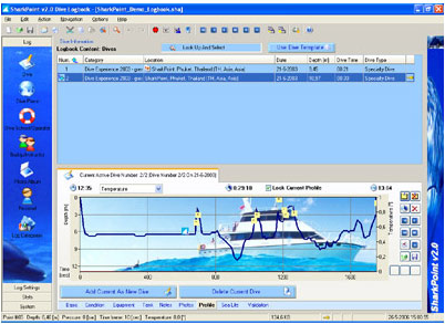 SharkPoint for Windows v2 (Professional), Lifestyle Software Screenshot