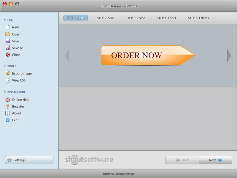 ShoutDesigner Screenshot