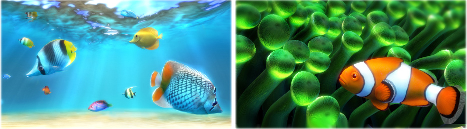 Sim Aquarium PLATINUM, Desktop Customization Software Screenshot