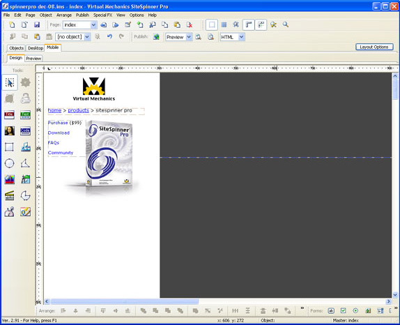 SiteSpinner Pro Screenshot 9
