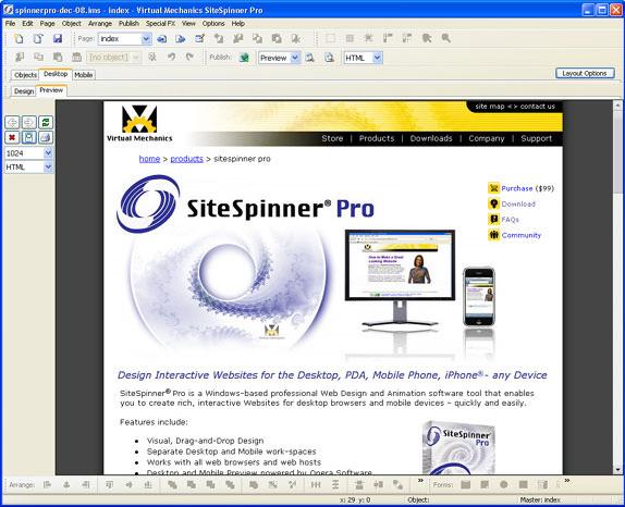 SiteSpinner Pro Screenshot 8