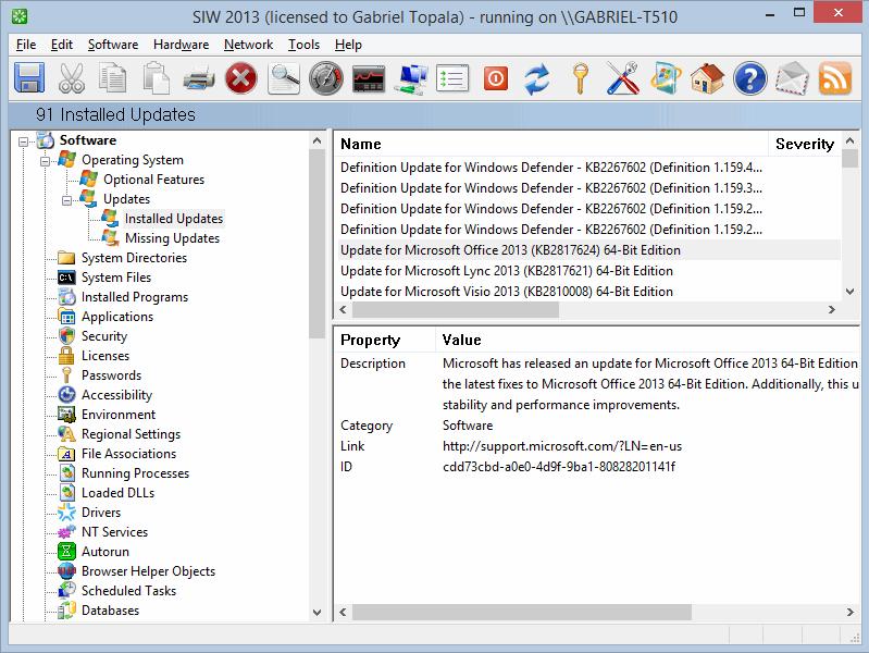 ... Windows Screenshot Software Utilities, System Inventory Software  Screenshot