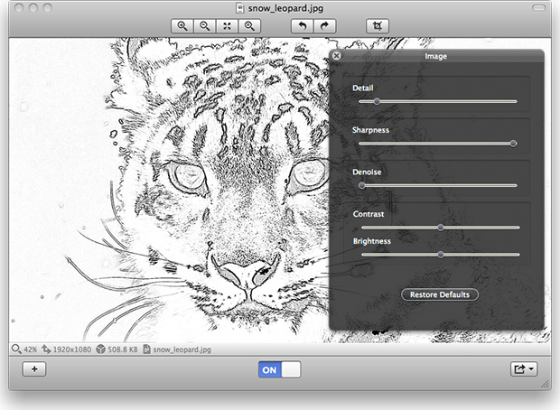 SketchPen, Design, Photo & Graphics Software Screenshot