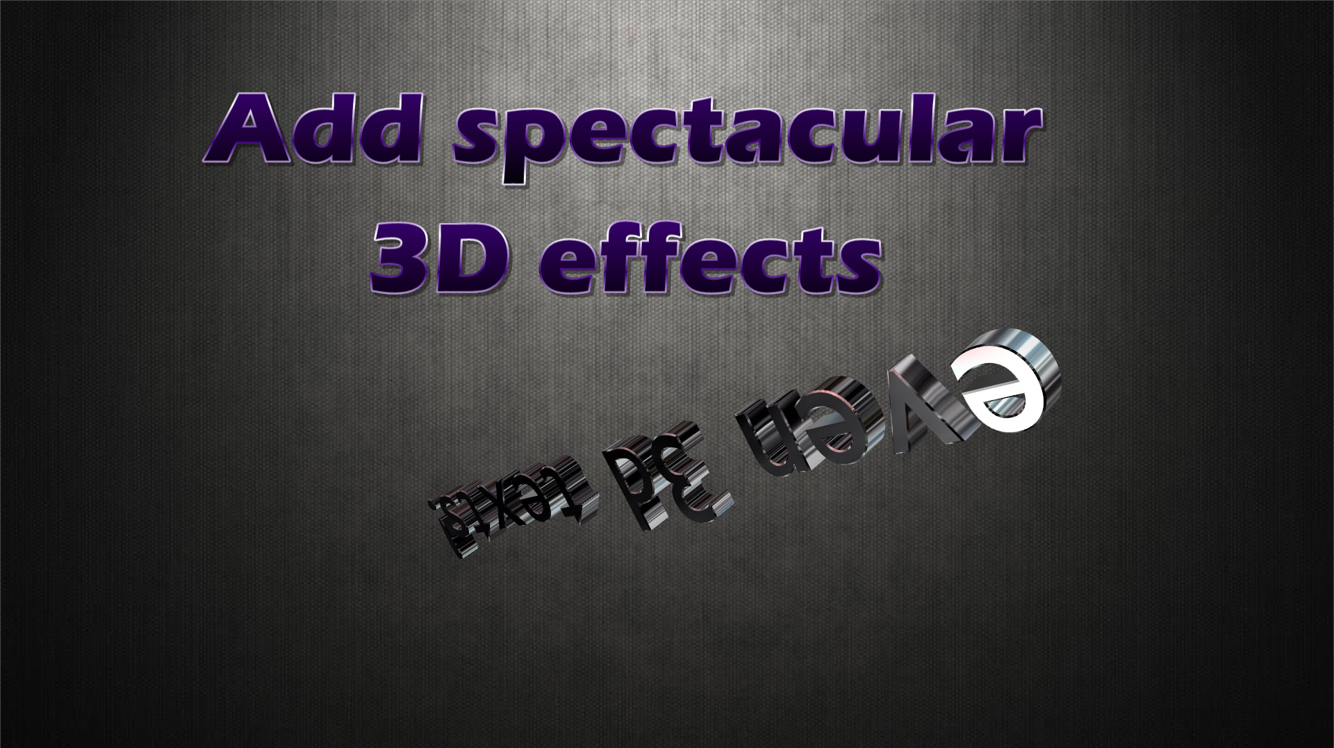 Slide Effect Professional, Design, Photo & Graphics Software Screenshot
