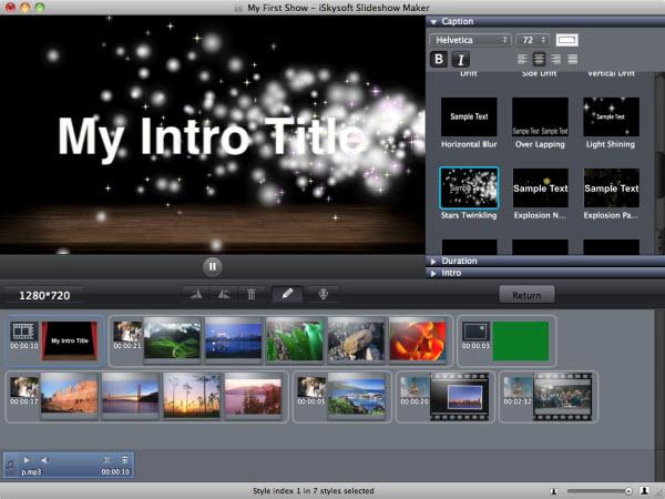 Slideshow Maker - Slideshow Software - 50% off for Mac & PC