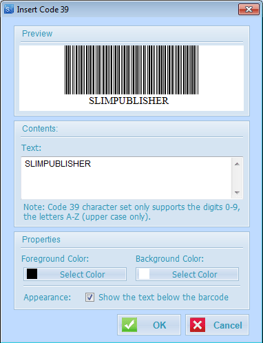 SlimPublisher Screenshot