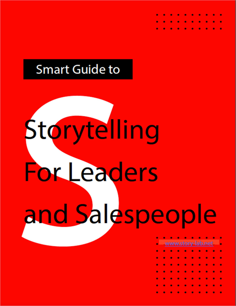 Smart Guide: Storytelling For Leaders and Salespeople Screenshot