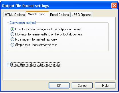 Smart PDF Converter, Business & Finance Software Screenshot