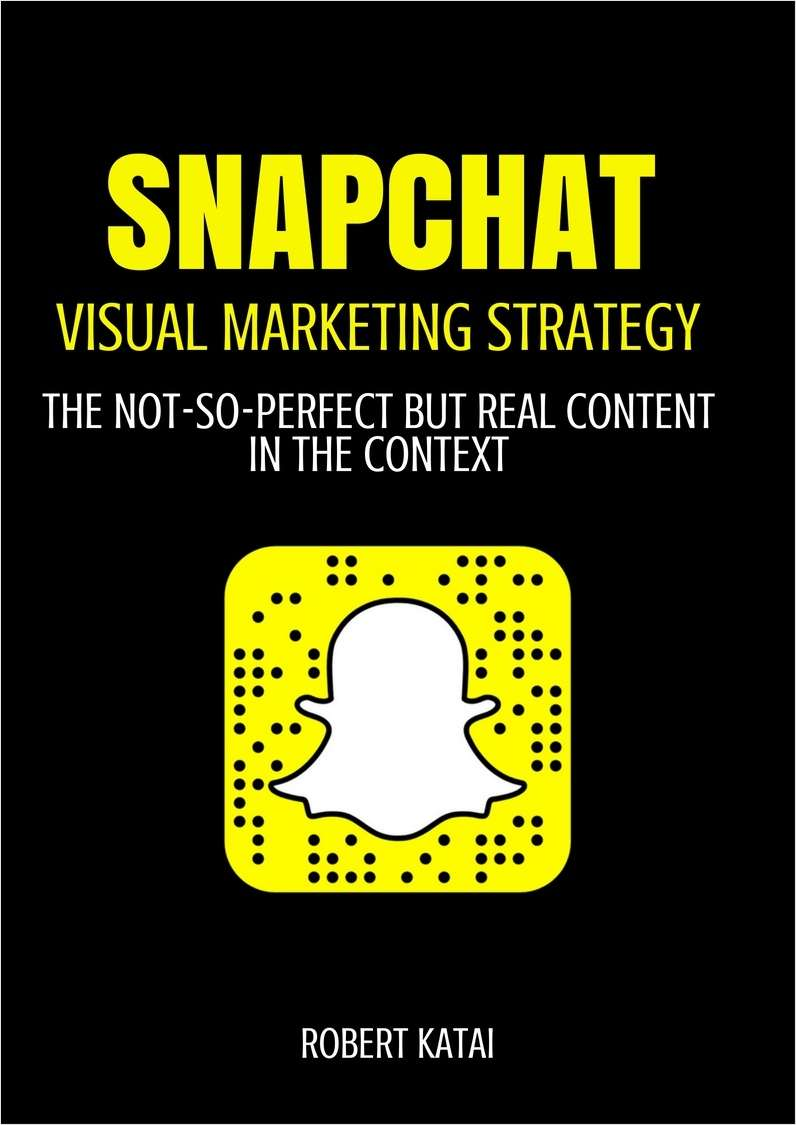 Snapchat - Visual Marketing Strategy Screenshot