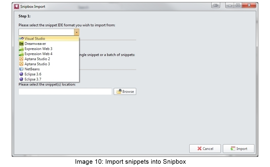 Snipbox Screenshot