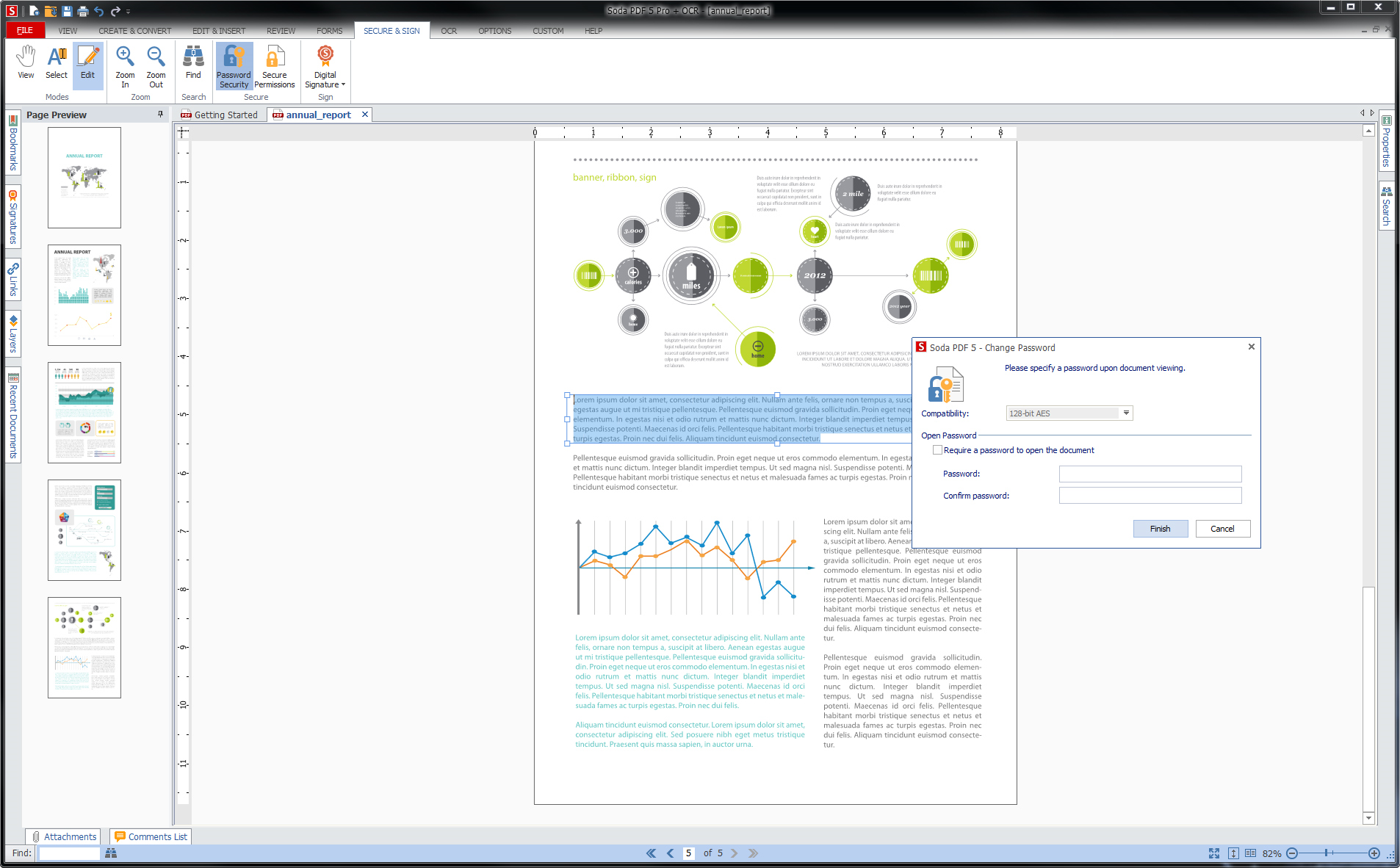 Soda PDF Standard, Business & Finance Software Screenshot