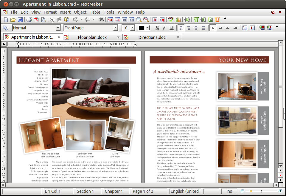 FreeOffice for Windows Mac Linux and Android