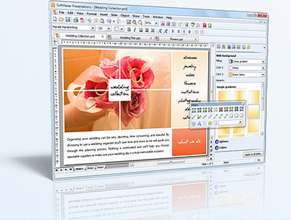 SoftMaker Office 2012 for Windows and Elegant Handwriting Fonts Bundle, Business Management Software Screenshot