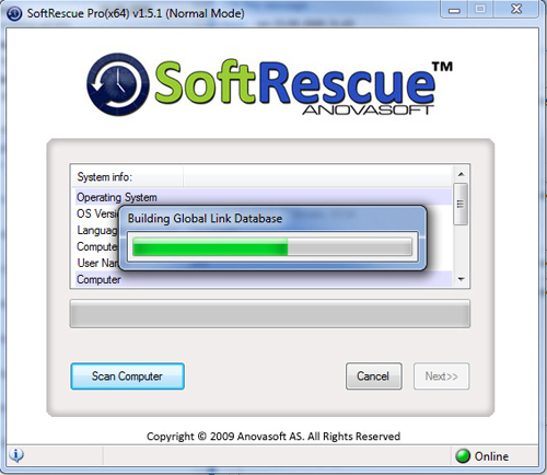 SoftRescue Pro Edition Screenshot