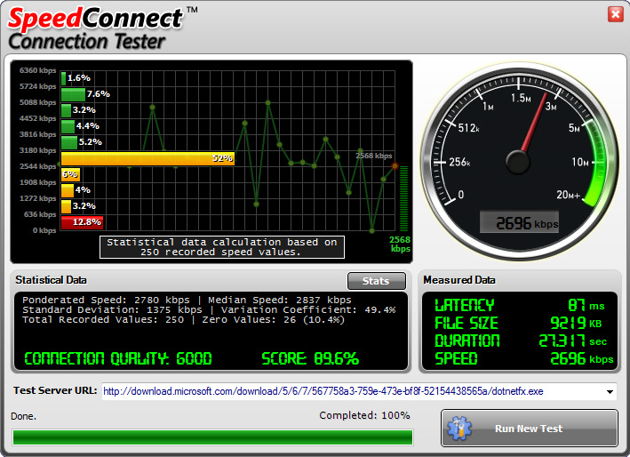 SpeedConnect Internet Accelerator Screenshot