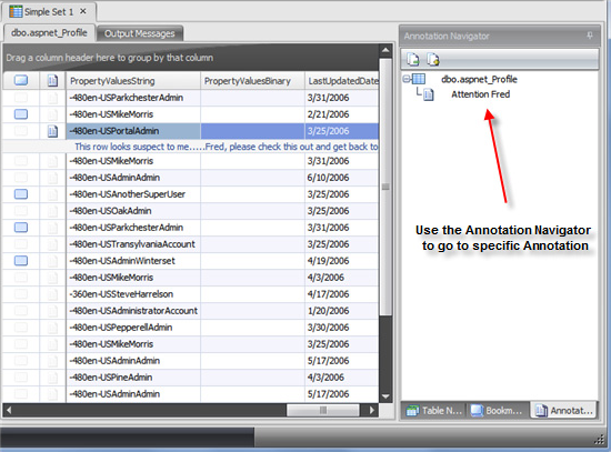 Database Software, SQL Sets Screenshot