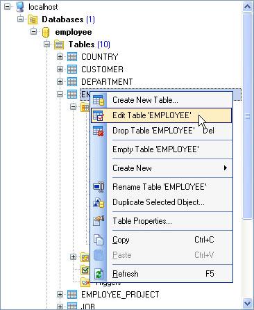 Database Management Software, SQLite Maestro Screenshot
