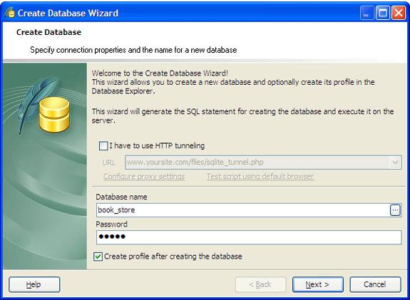 SQLite Maestro, Database Management Software Screenshot