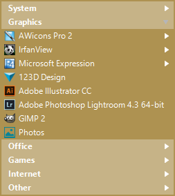 Start Menu 10, Desktop Customization Software Screenshot
