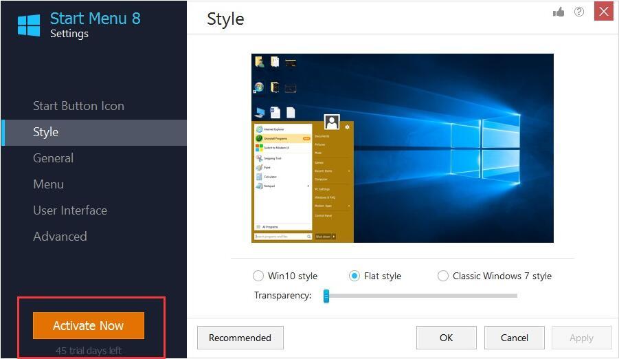 Desktop Enhancements Software Screenshot