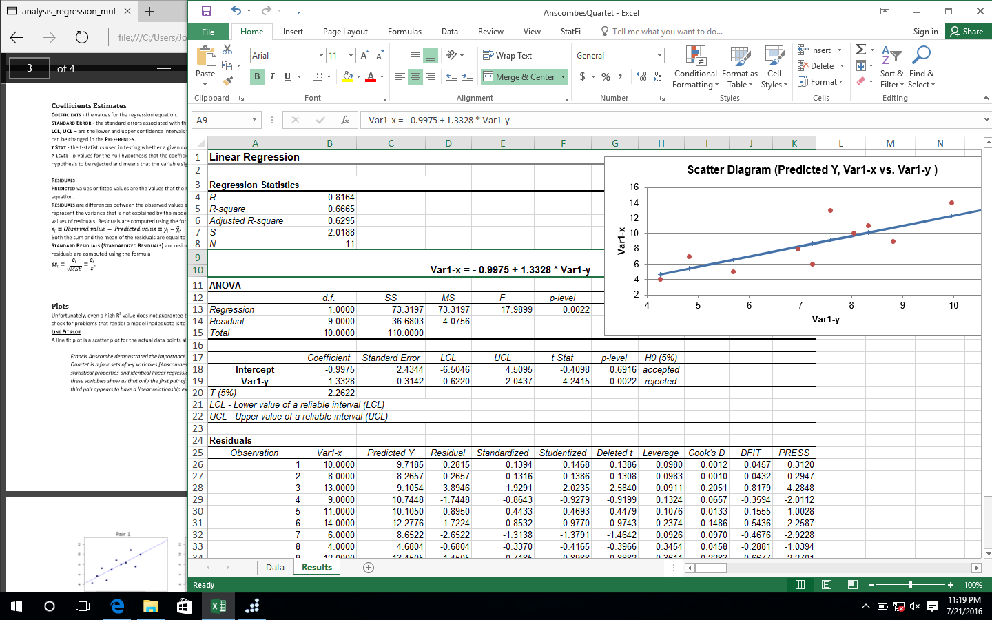 Business & Finance Software, StatPlus Screenshot