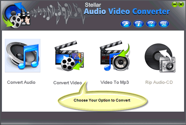 Stellar Audio Video Converter Screenshot