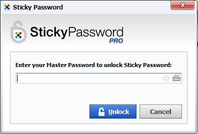 Sticky Password Screenshot