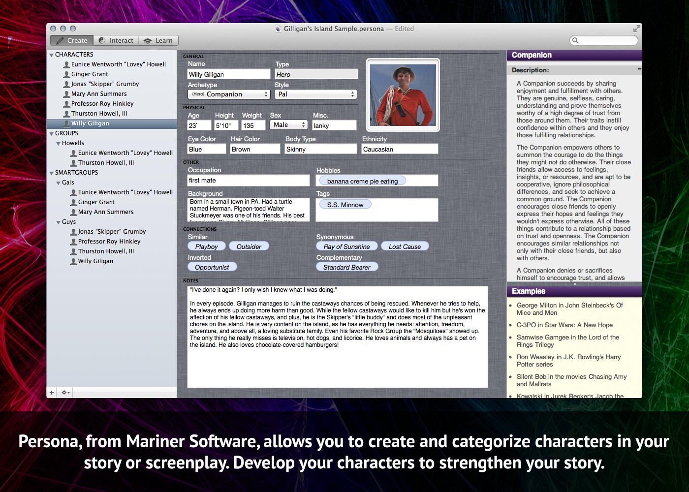 Story & Character Development Bundle Screenshot
