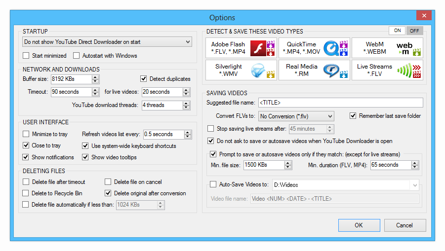 Streaming Video Downloader, Online Video Software Screenshot