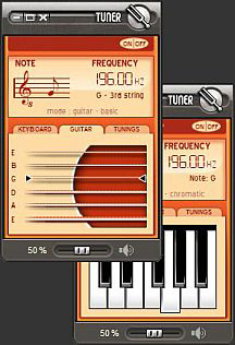 String Instrument Tuner Screenshot
