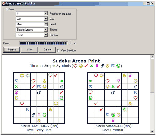 Sudoku Arena Screenshot