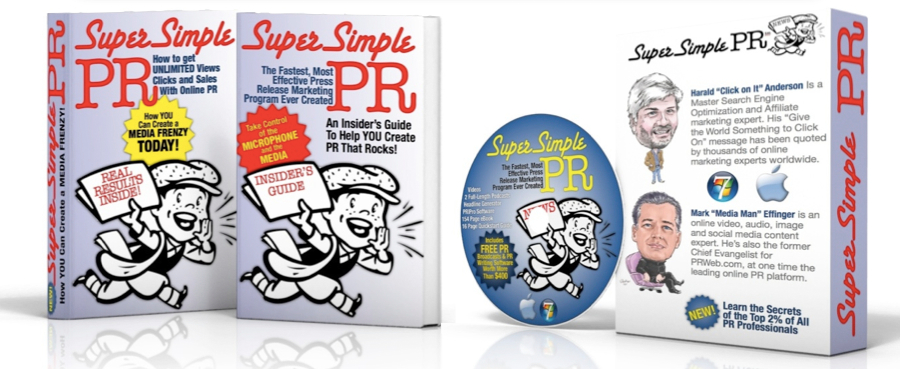 Super Simple PR: The Ultimate Online PR Course for SEO, Sales & Getting In The News, Educational Software Screenshot