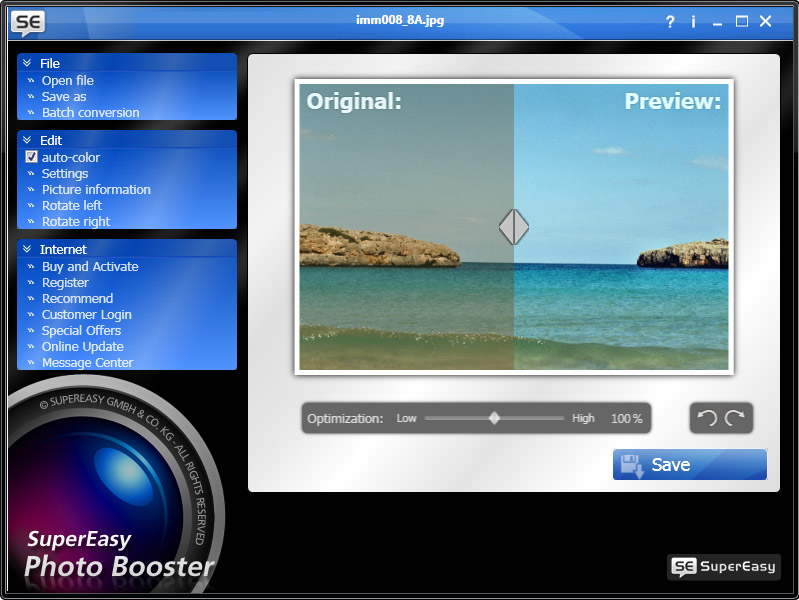 SuperEasy Photo Booster Screenshot