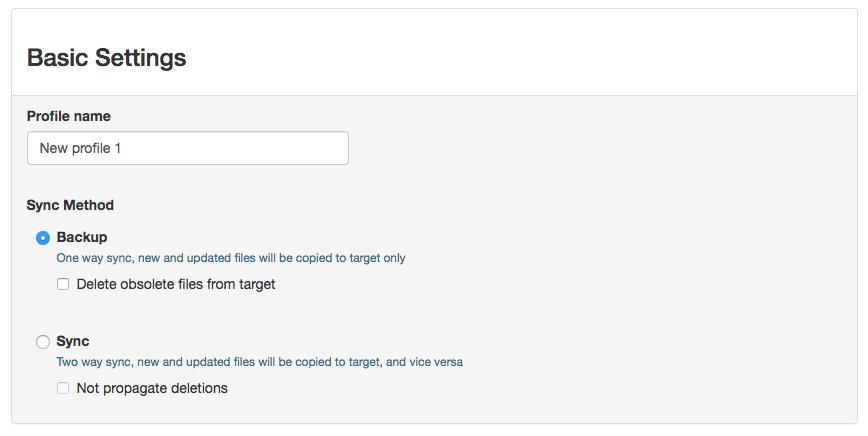 File Management Software Screenshot