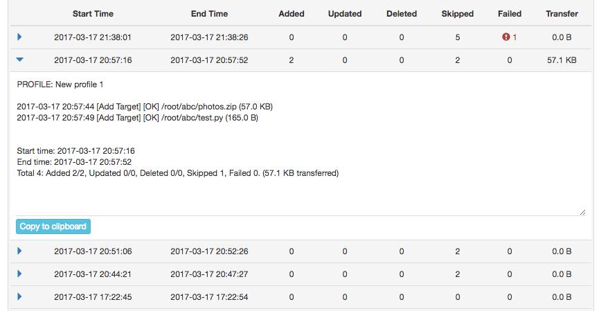 Syncbear - Personal Plan 1 Year License, Software Utilities Screenshot
