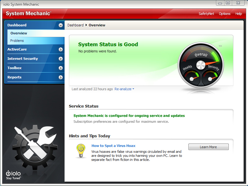 System Mechanic Screenshot 9
