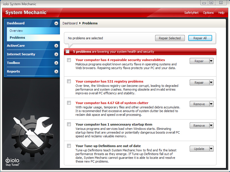 System Mechanic Screenshot 11