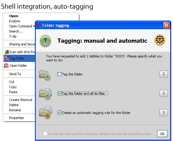 Tabbles Basic, Software Utilities Screenshot