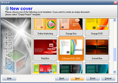 Boxshot Software Screenshot