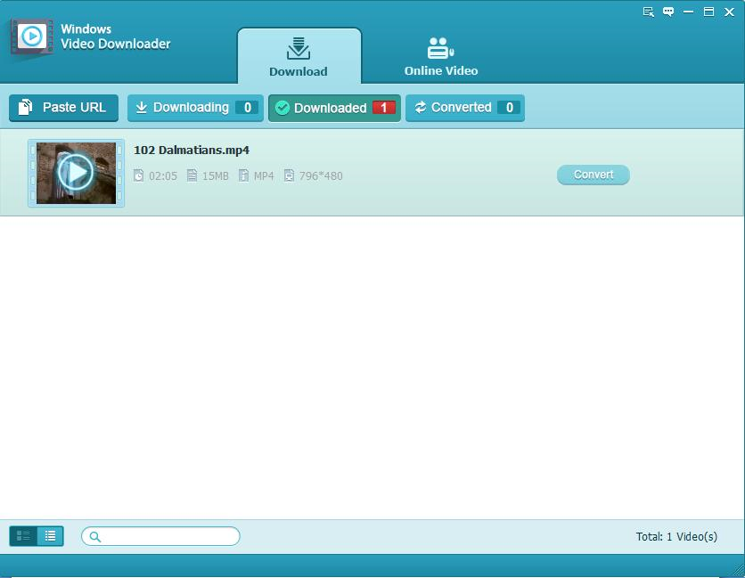 Tenorshare Video Downloader, Video Software Screenshot