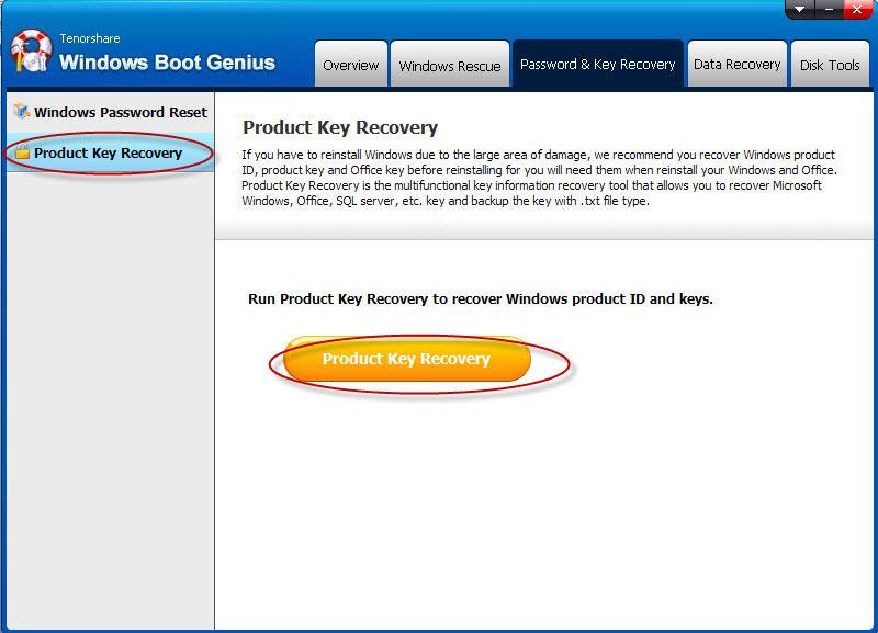 Tenorshare Windows Boot Genius Screenshot 8