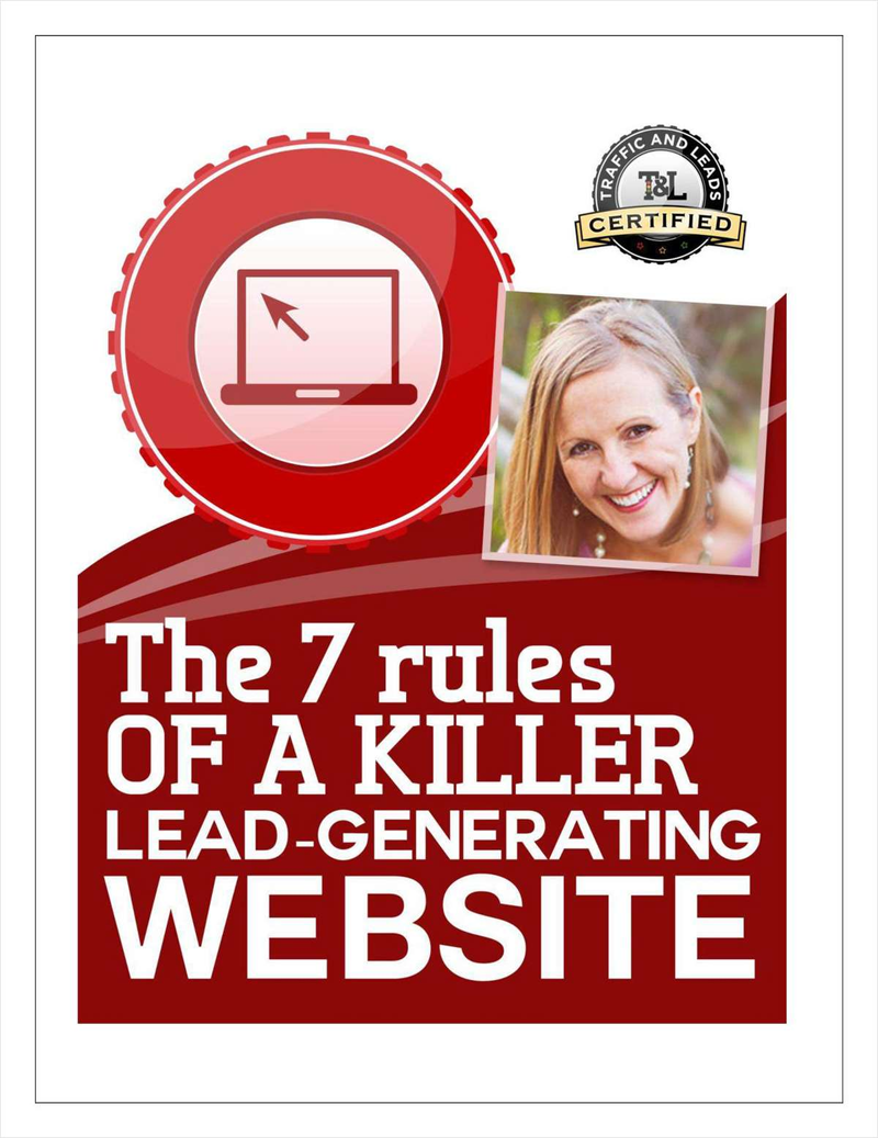The 7 Rules of a Killer Lead-Generation Website Screenshot