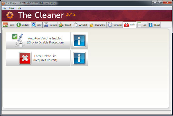 The Cleaner 2012 - Free download and software reviews
