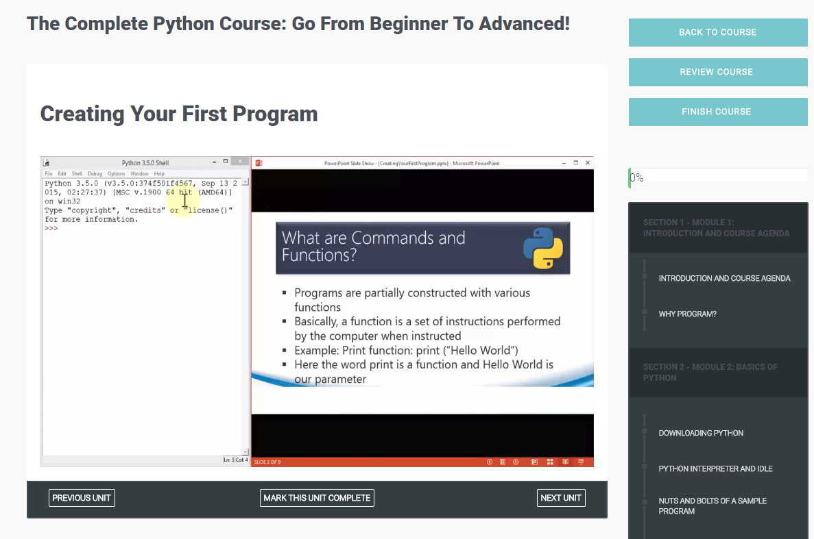 python tutorials for beginners