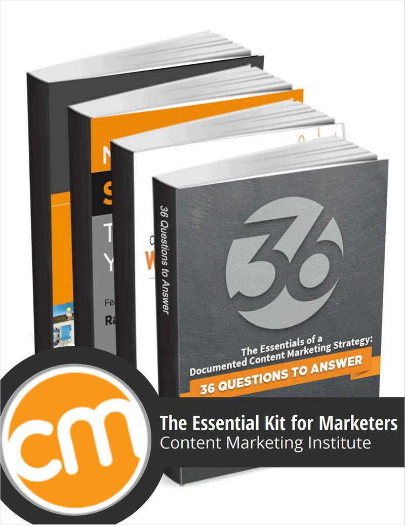 The Content Marketing Institute Original 4-Book Bundle Screenshot