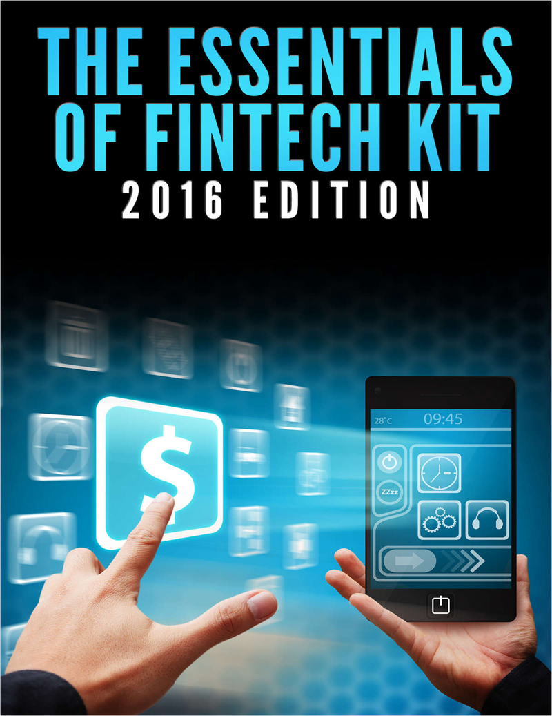 The Essentials of FinTech Kit - 2016 Edition Screenshot