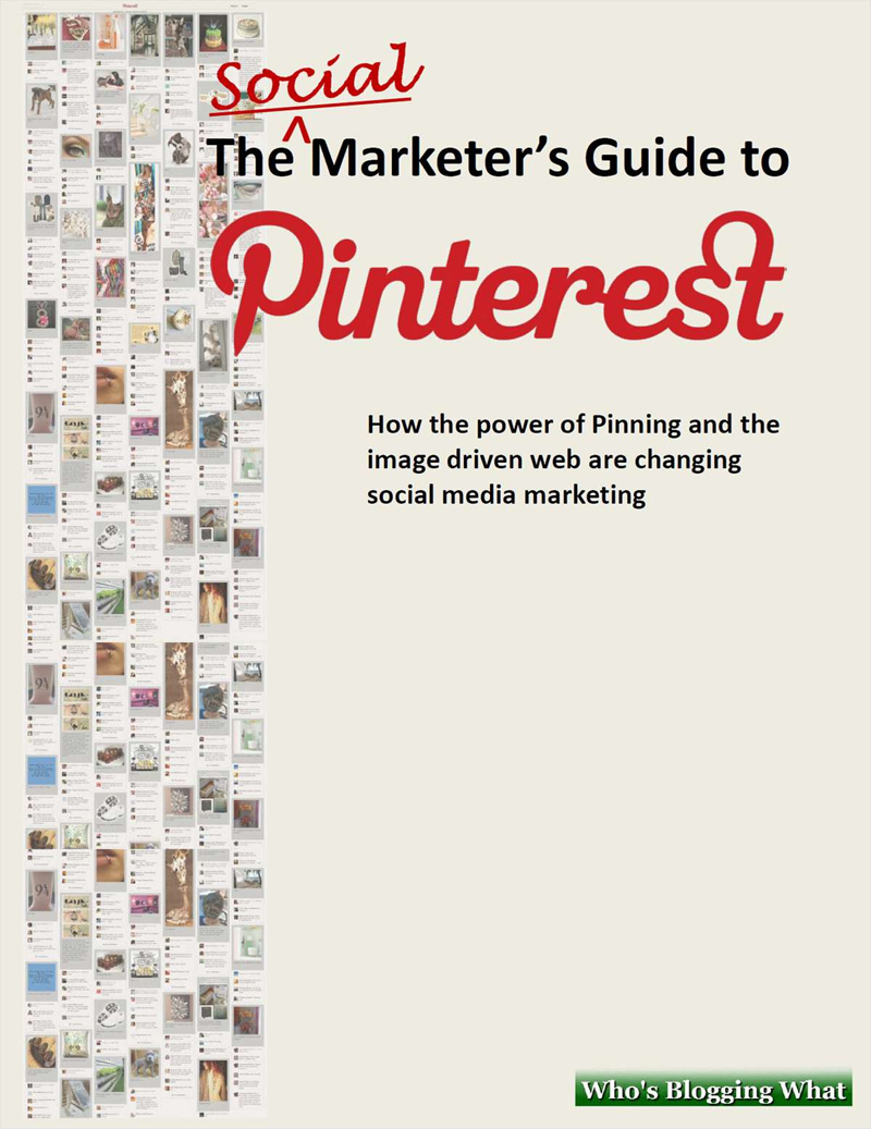 The Essentials of Marketing Kit - Includes the Free Social Marketer's Guide to Pinterest Screenshot