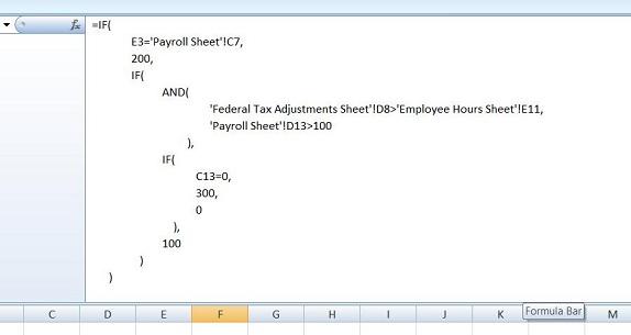 The Formulator, Excel Add-ins Software Screenshot