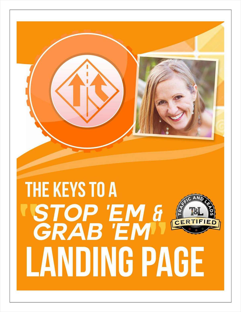 The Keys to a 'Stop 'em & Grab 'em' Landing Page Screenshot