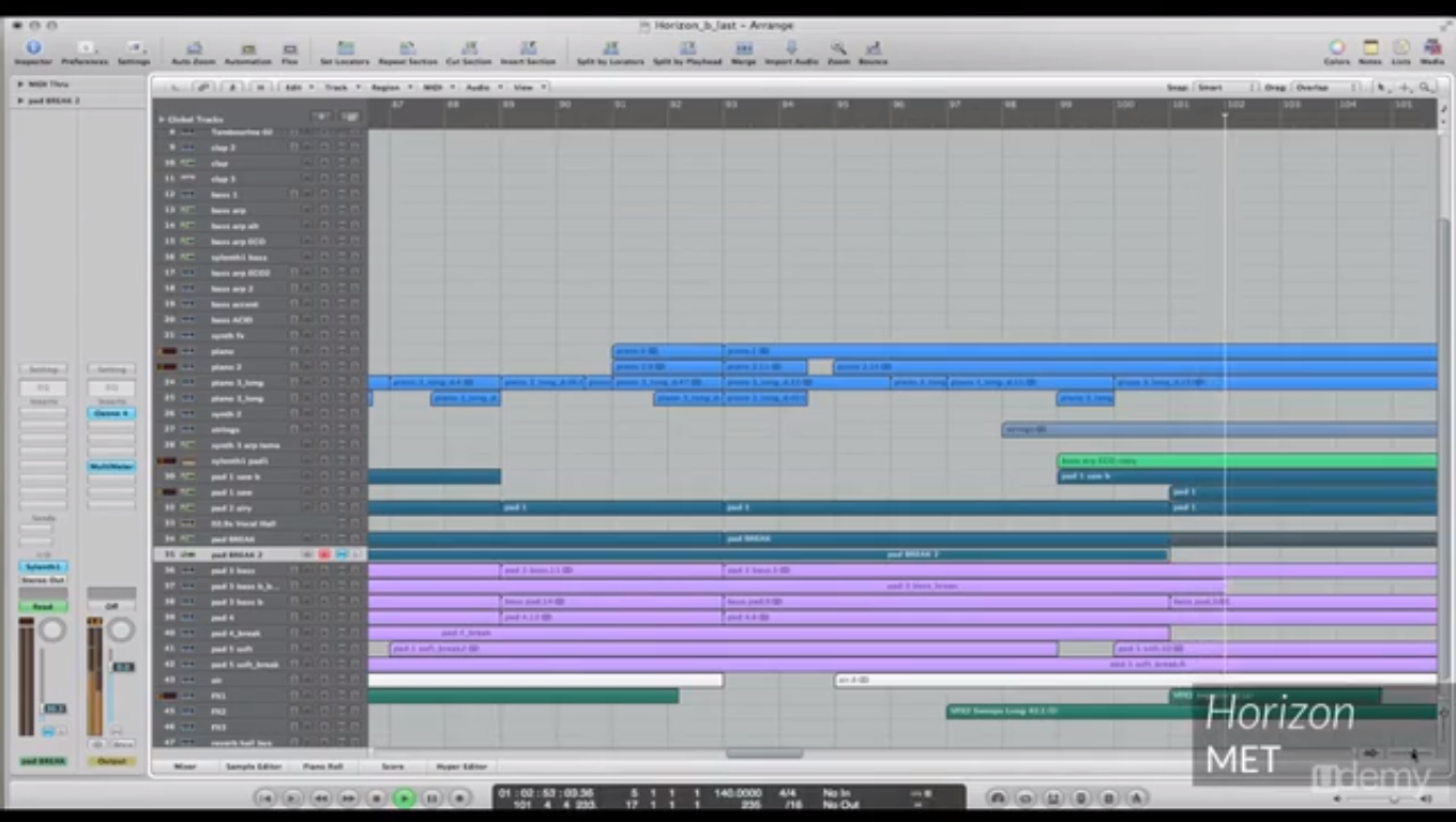 The Professional Way: Learn Electronic Music Production Screenshot